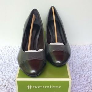 Naturalizer Heels, gray, worn one time.